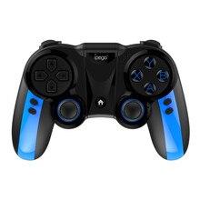 Ipega controle de videogame telescópico, gamepad bluetooth wireless para xiaomi pirata, para android e pc PG 9090, 9090