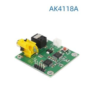 Image 3 - Плата приемника AK4118AEQ, коаксиальное волокно, выход I2S, 24Bit192kHz, мягкое управление