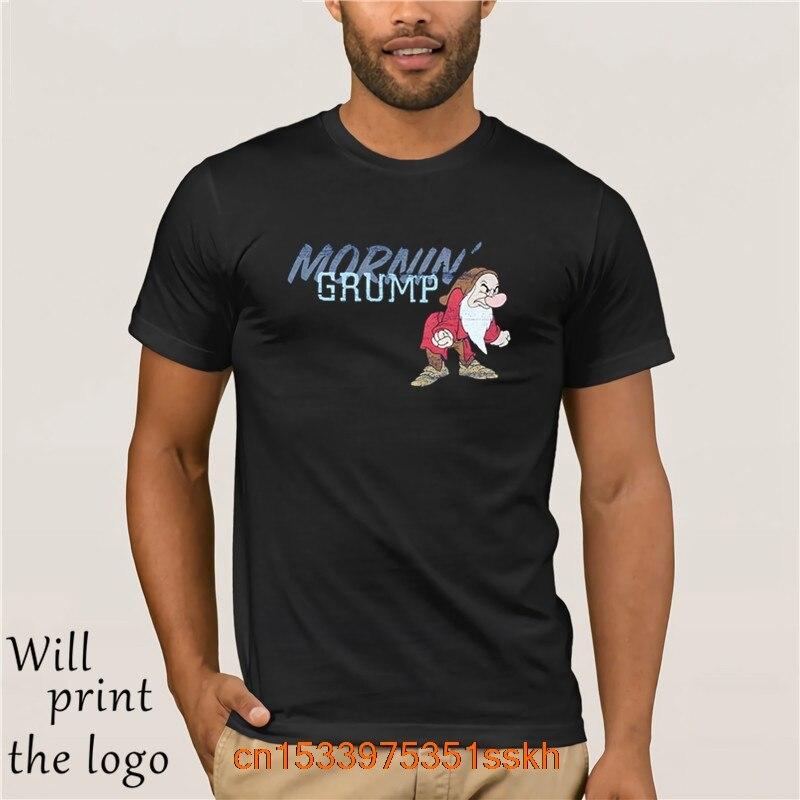 New Summer Men's Casual Print T-Shirt Fashion T-shirt Grumpy Lounge T-Shirt for Men