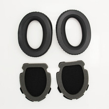 High Quality Foam Replacement Earpads For BOSE Aviation Headset X A10 A20 Earphone Ear Pads Black Durable Earmuffs Yw# high quality ear pads for sony mdr xd100 xd150 xd200 xd300 headset replacement earpads up leather earmuffs black yw
