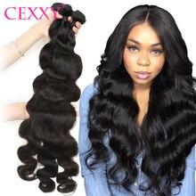 Body Wave Brazilian Hair Wave Bundles 28 30 Long CEXXY Hair Human Hair Weave 1/3/4 Bundles Hair Extensions For Women Remy Hair