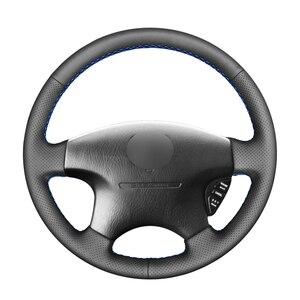 Image 1 - أسود بولي Artificial الجلود الاصطناعية سيارة غطاء عجلة القيادة لهوندا أكورد 6 1998 2002 أوديسي 1998 2001 أكورا CL 1998 2003 MDX