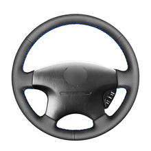 Black PU Artificial Leather Car Steering Wheel Cover for Honda Accord 6 1998  2002 Odyssey 1998 2001 Acura CL 1998 2003 MDX