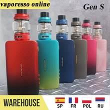 Набор для вейпа Vaporesso GEN S, 220 Вт, TC, 8 мл, NRG-S Tank и OLED-экран, подходит для катушек GT Max, выход 220 Вт, электронная сигарета, комплект для вейпа VS Luxe S