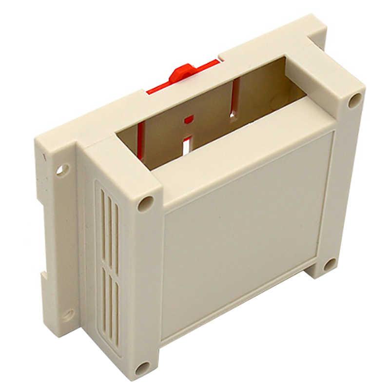 FULL-1Piece корпуса для электроники Abs Электроника проект корпус din-рейка распределительный Корпус чехол настенный зажим
