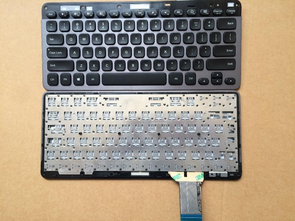Bilgisayar ve Ofis'ten Yedek Klavyeler'de ABD dizüstü klavye Logitech K810 Bluetooth değiştirin klavye yerine (tam bir Bluetooth klavye) title=