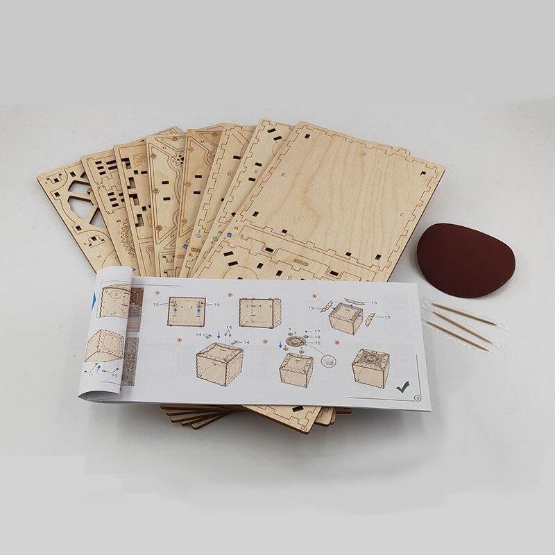 puzzle criativo montado joias caixa de senha presente para namorada 05