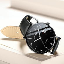 Mens Leisure Fashion Luxury Watch Waterproof Luminous Calendar Quartz Leather Alloy Trend