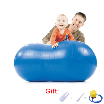 Anti-Burst Exercise Yoga Ball Kids Children Fitness Specialty Rehabilitation Training Peanut Ball Hotal Hospital Fitness Ball anti spasticity ball fingers apart hand far infrared impairment finger orthosis vibration massage rehabilitation exercise