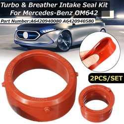 Kit para selo de motores mercedes-benz om642, 2 peças, selo de admissão para motor de carro acessórios