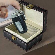 Chave de faraday antirroubo rfid, chave de faraday, proteção à prova de radiação, caixa de celular, carro, sem chave, bloqueador de sinal, segurança nova varal