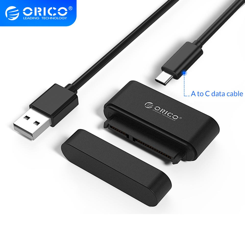 ORICO Tool Free HDD SSD Adapter USB3 0   USB3 1 Type-C 5Gbps to SATA3 0 Hard Drive Disk Converter Cable for 2 5 Inch HDD SSD