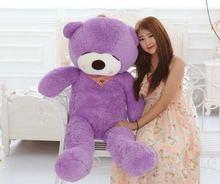 Новый гигантский плюшевый спальный мешок 39 дюймов «фиолетовый»