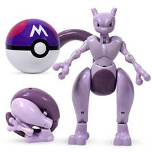 Takara Tomy Pokemon Elf Bal Variant Speelgoed Model Pikachu Jenny Schildpad Mewtwo Pocket Monsters Pokemon Speelgoed Action Figure Model Gift