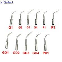 Tips Satelec Woodpecker G1 Dental for EMS DTE Ultrasonic GD2 GD3 GD4 PD1 5pcs P3