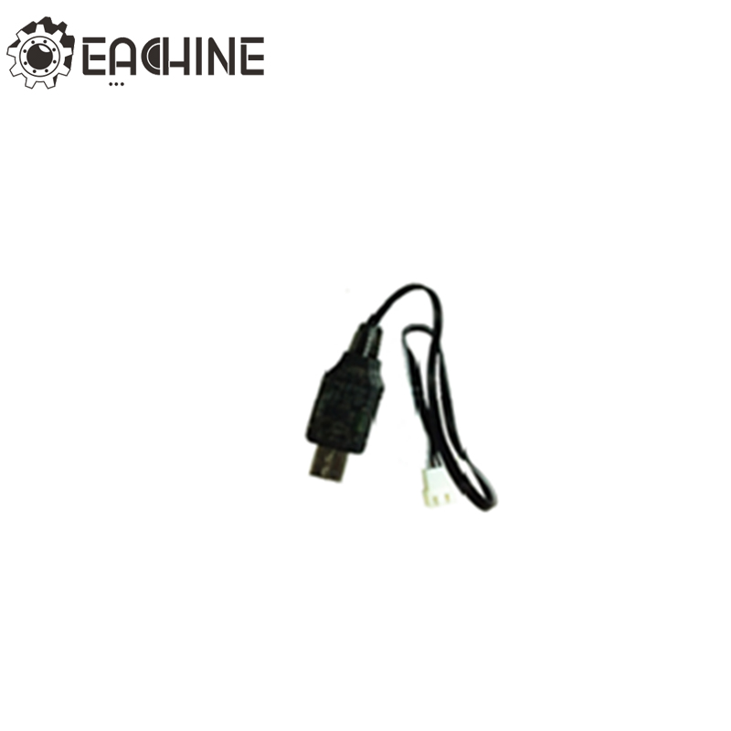 Eachine P-51D RC Airplane 1S Lipo Battery USB Charging Cable FPV Racing Aircraft Wire RC Drone Quadcopter Spare Parts Accs image