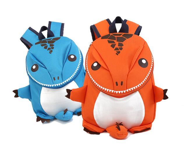 Dinosaur Backpack Holiday Travel Toddlers Mini School Cartoon Casual Unisex Zipper Kids