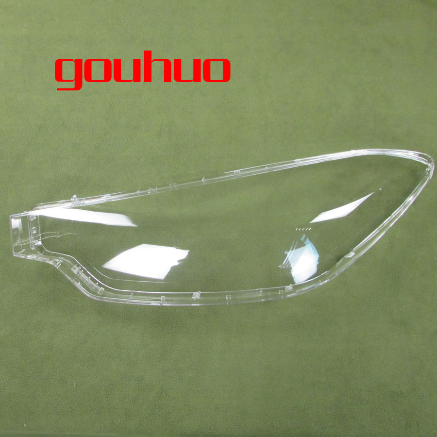 For Kia K3 2012 2013 2014 2015 Front Headlamps Cover Transparent Lampshade Headlight Shell Cover Lens Glass