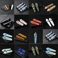 Натуральный кварц курительная труба КРИСТАЛЛ ТОЧКА палочка исцеляющий Кристалл gemstoneWith металлический фильтр оптовая цена 1 шт