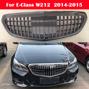 Car styling Middle grille For Mercedes-Benz E-Class W212 2014-2015 Modified for Maybach style комплект ковриков в салон автомобиля novline autofamily mercedes benz e class w212 2009 седан цвет бежевый