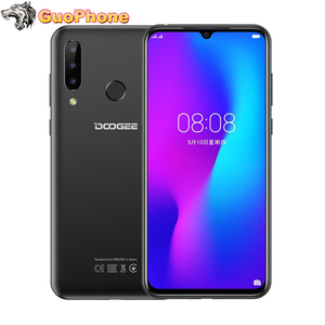 "Image 1 - DOOGEE N20 SmartPhone 6.3 ""4GB RAM 64GB ROM טביעות אצבע 16MP לשלושה חזרה מצלמה MT6763 אוקטה Core 4350mAh 4G LTE טלפון נייד"