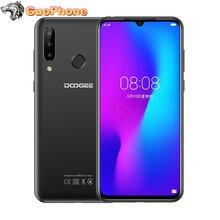 """DOOGEE N20 SmartPhone 6.3 """"4GB di RAM 64GB ROM di Impronte Digitali 16MP Tripla Fotocamera Posteriore MT6763 Octa Core 4350mAh 4G LTE Mobile Phone"""