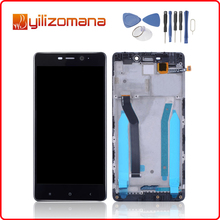 1920x1080 Original For Redmi 4 Pro LCD Display Touch Screen Digitizer Assembly for XIAOMI Frame Replacement
