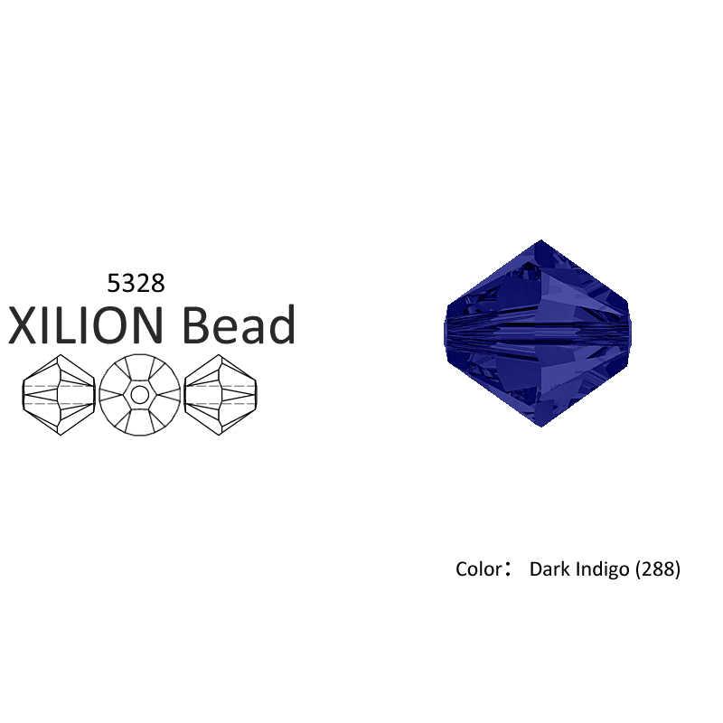 ¡Oferta! 5328 cuentas sueltas de Color liso de 1 a 250, de rombos para cuentas Bicones, cristal de swarovski, venta al por mayor, para joyería, bisutería