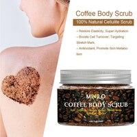 Coffee Scrub Body Scrub Cream Treatment Acne Facial Dead Sea Salt For Exfoliating Whitening Moisturizing Anti Cellulite  TSLM1 2