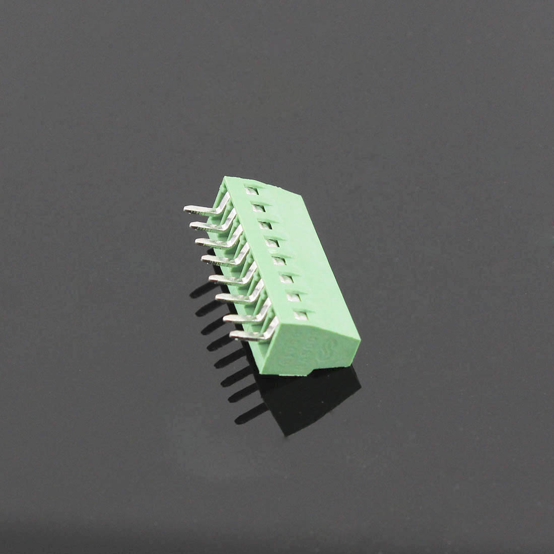 50pcs 8 pôles/8 broches 2.54mm 0.1 ''PCB connecteur de bornier à vis universel