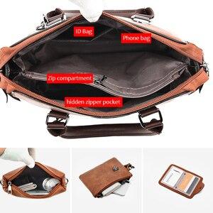 Image 4 - Women Handbags and Purse 3pcs Bag Set Female Shoulder Crossbody Bag Solid Color Soft Bag Wallet Handbag Cat Tassels Bags
