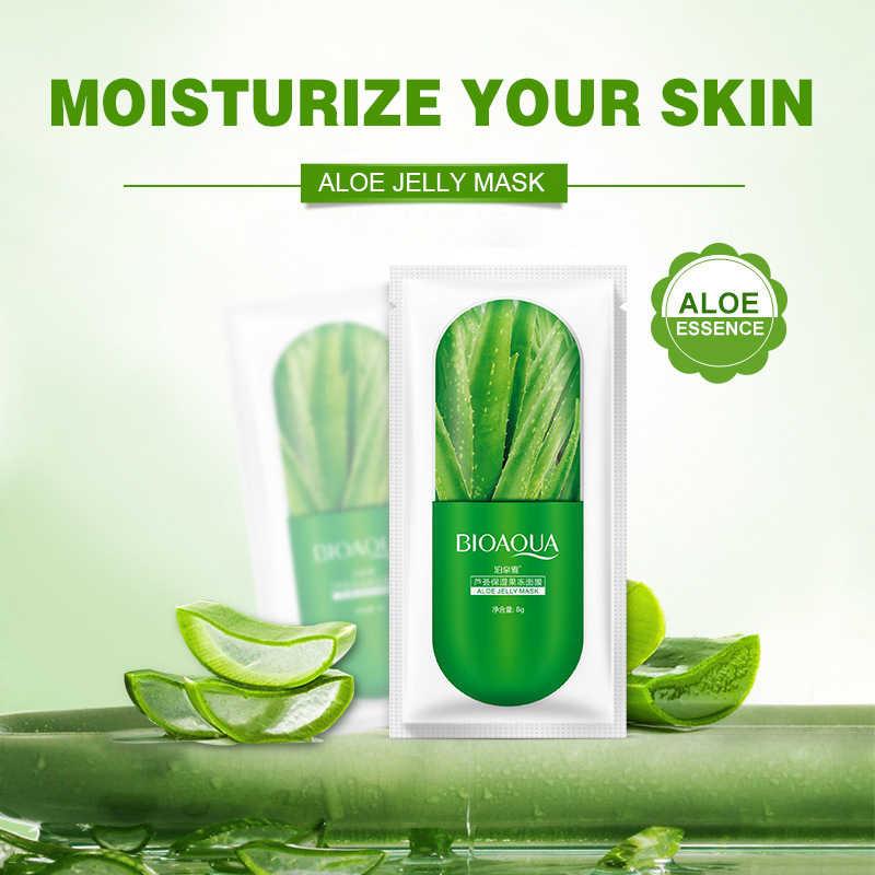 Plant Hydraterende Gezichtsmasker Verse Anti-Acne Plantenextract Olie Controle Hydraterende Masker Huidverzorging Cosmetische Groothandel TSLM1