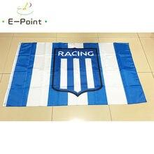 Flaga argentyny Racing Club de Avellaneda 3 stopy * 5 stóp (90*150cm) rozmiar ozdoby choinkowe dla domu Flag Banner prezenty
