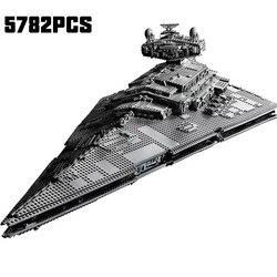 81098 Star Toys Wars kompatybilny z lepining UCS Imperial Star Destroyer zestaw klocki klocki dla dzieci zabawki świąteczne prezenty