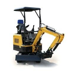 Équipements de Construction mini pelle hydraulique 1.5 tonnes petite pelle pour un usage domestique