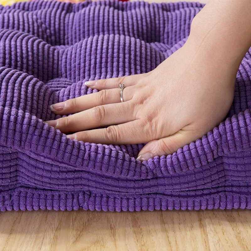 1 個ロング厚いクッションホームオフィスの装飾ロングクッション無地畳クッションカスタマイズ可能な床クッション送料無料
