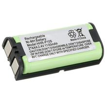 2.4V 1100mAh Ni-MH Home Telephone Battery Rechargeable