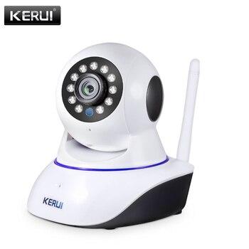 цена на KERUI  Wireless Indoor IP Camera 720P 1080P HD Night Vision WIFI IP Camera Home Security Infrared Motion Detection Surveillance