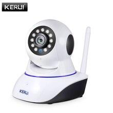 KERUI bezprzewodowa wewnętrzna kamera IP 720P 1080P HD Night Vision WIFI IP kamera do domowego systemu alarmowego detekcja ruchu na podczerwień