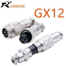 Aviation Connector Plug-Socket Female GX12 2/3/4-/.. 12mm 10sets