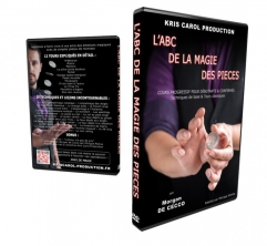 L'ABC De La Magie Des Pieces By Morgan De Cecco MAGIC TRICKS~