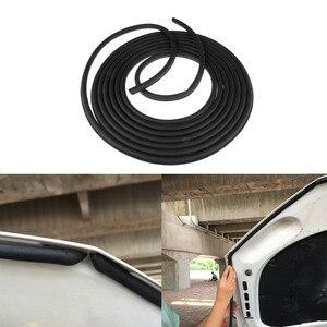 Image 2 - 8 מטרים גדול D צורת רכב דלת חלון רצועת איטום EPDM גומי רעש בידוד נגד אבק לרעש רצועת חותם עבור מנוע תא מטען