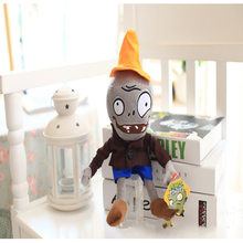 Plush-Toy Plants vs Zombies Soft-Game-Toy plant 20cm and Zombie 30cm Seven Inch Catching Dolls Chain-Accompany Christmas-Gift