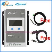 EPEVER – contrôleur de Charge MPPT pour panneaux solaires, 12v/24v, 10a, 20a, 30a, 40a, fonctionne automatiquement avec écran LCD, 1206AN, 1210AN, 2206AN, 2210AN, 3210AN, 4210AN