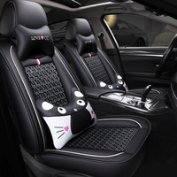 Audi A3 Seat Cover 2018 Four Seasons Universal Seat Cushion Women's Summer Seat Cover Only All Edges Included Viscose Automobile