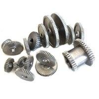 17Pcs/Set Mini Lathe Gears , Metal Cutting Machine Gears , Lathe Gears Promotion
