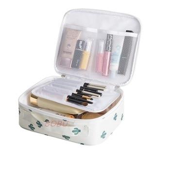 Outdoor Multifunction travel Cosmetic Bag Women Toiletries Organizer Waterproof Female Storage Make up Cases 1