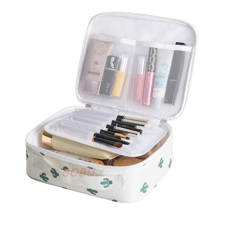 Outdoor Multifunction travel Cosmetic Bag Women Toiletries Organizer Waterproof Female Storage Make up Cases