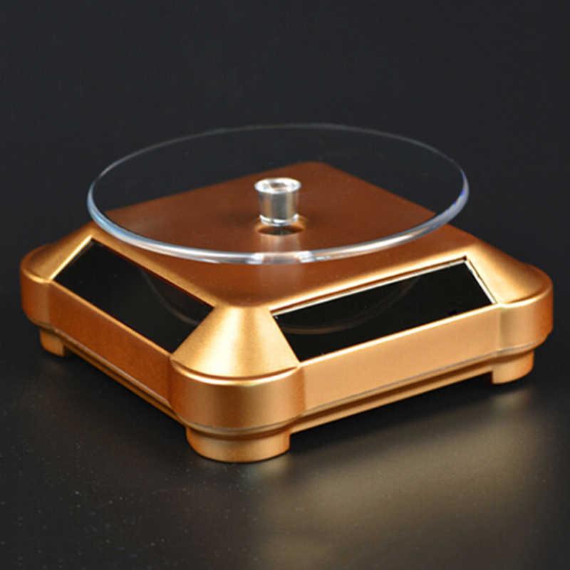 Rotation présentoir 360 degrés mode bijoux montre appareil photo numérique vitrine tourne-disque