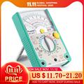 Pros'Kit MT-2017 MT-2018 Analog Multimeter Sicherheit Standard Ohm Test Meter DC AC Spannung Strom Widerstand Multimeter